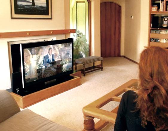 mueble tv madera